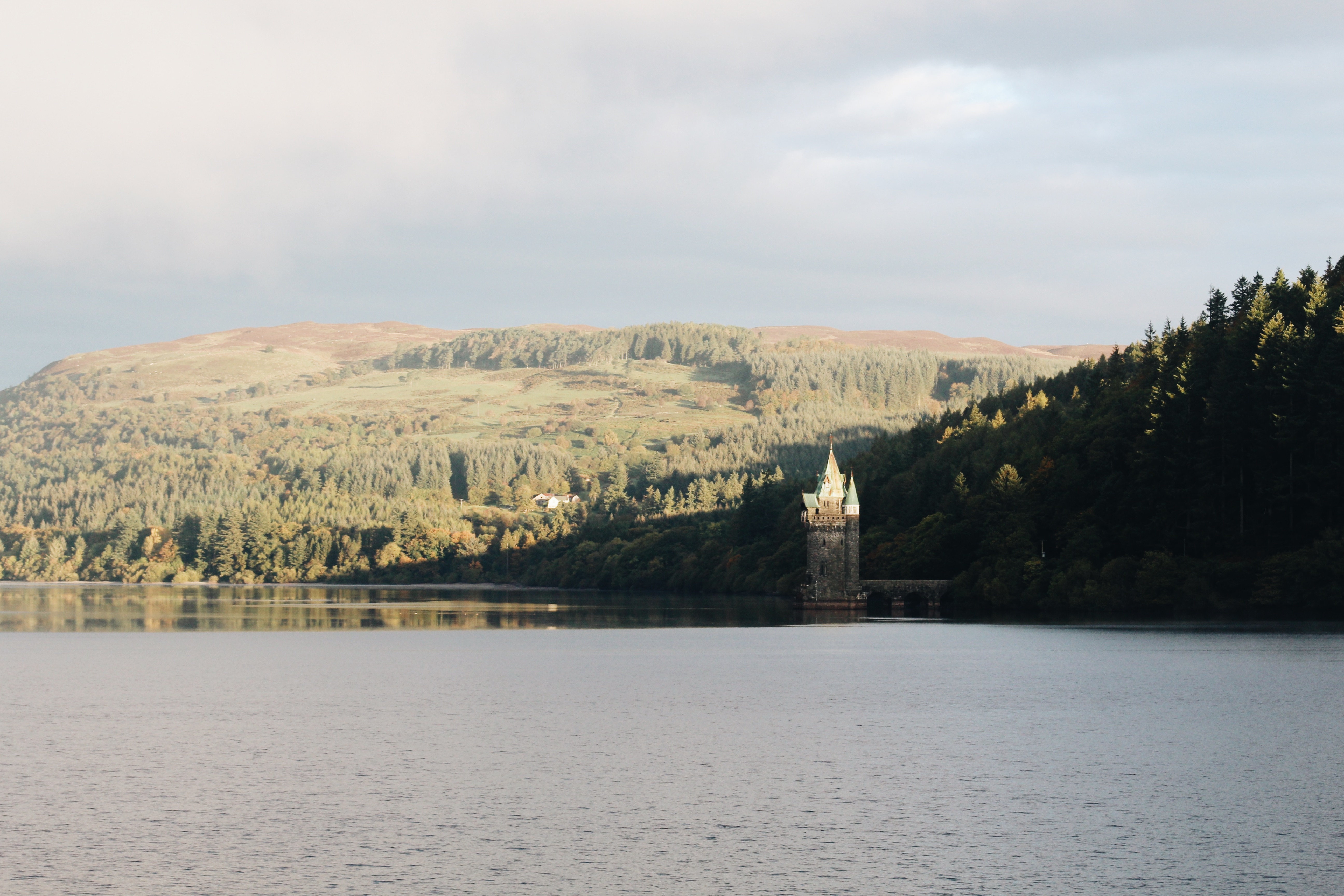 Lake Vyrnwy Landscape