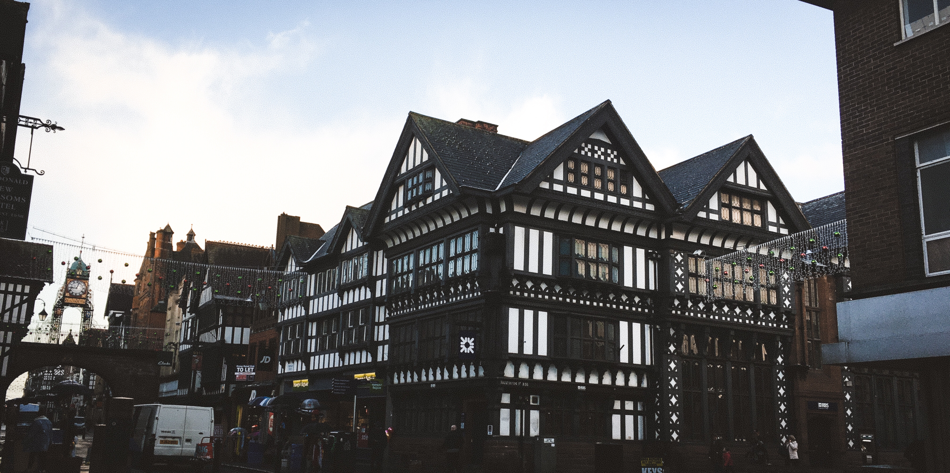 Old Buildings In Chester