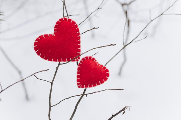 Handmade Valentines Hearts